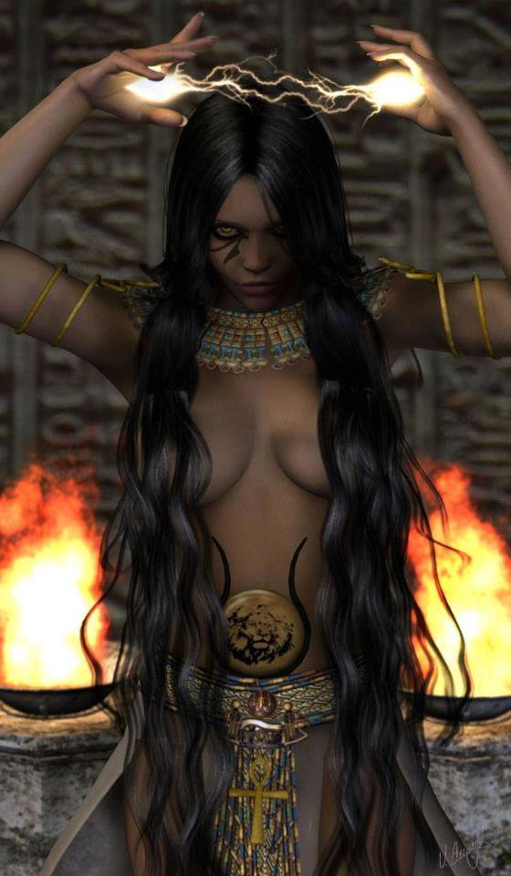 Fierce Priestess