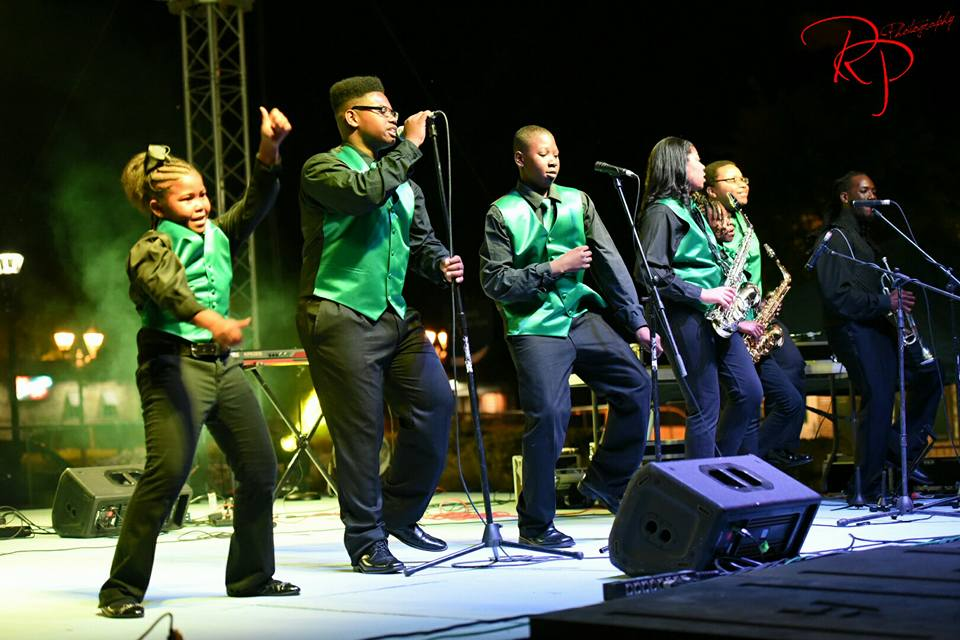 JAMP performs at 2016 ParTee On The Green