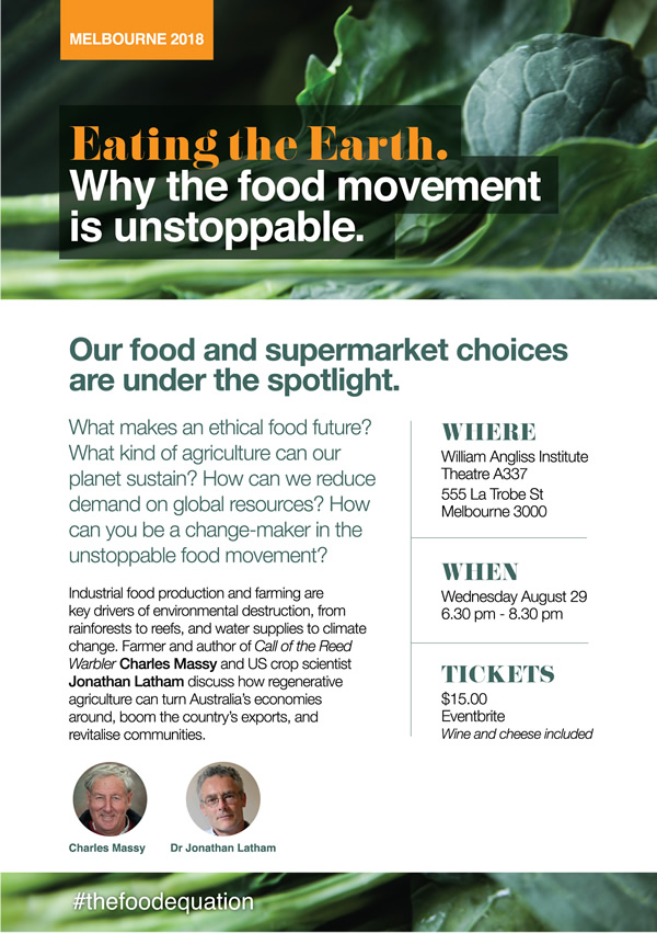 Eating the Earth: The unstoppable food movement