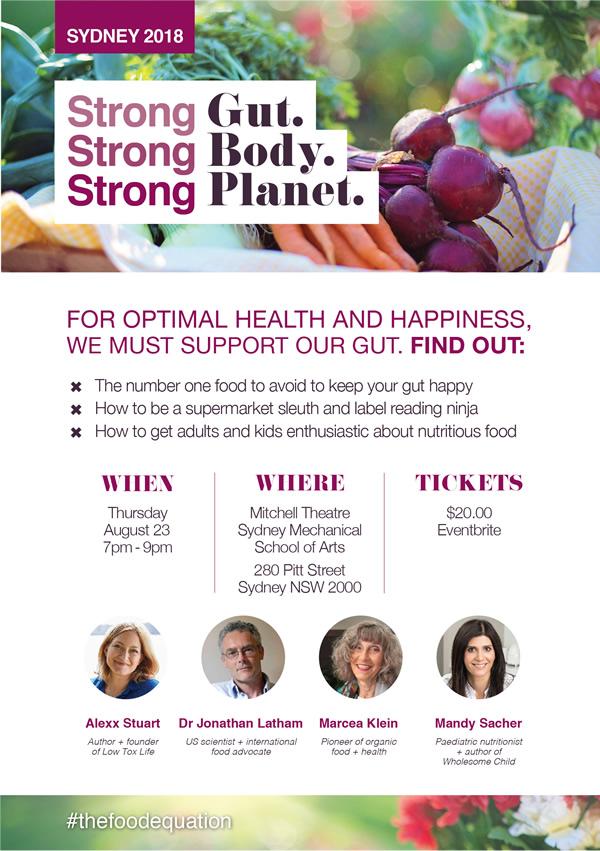 Sydney August 23 - Gut Health Seminar