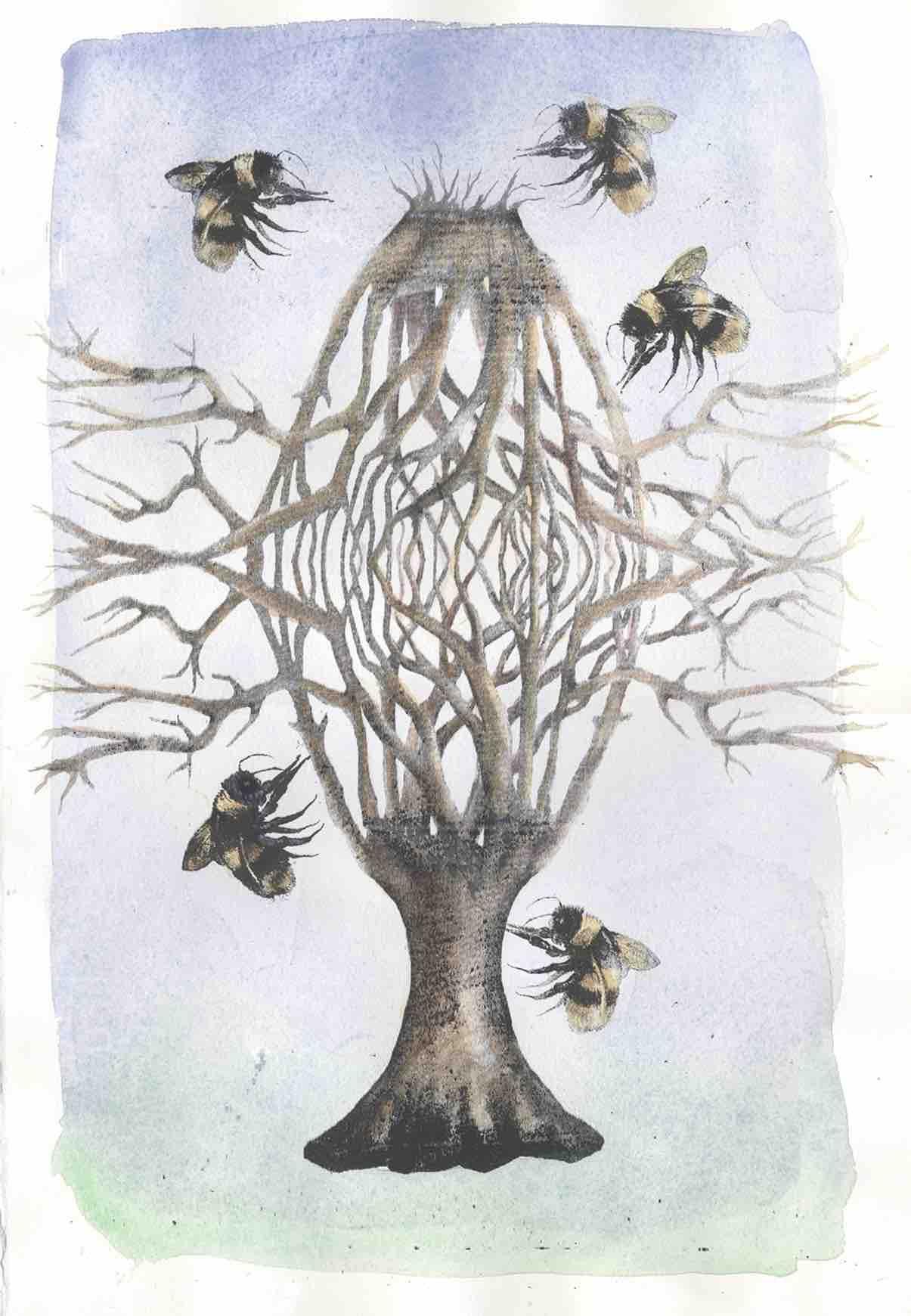 The Bee Hive Tree