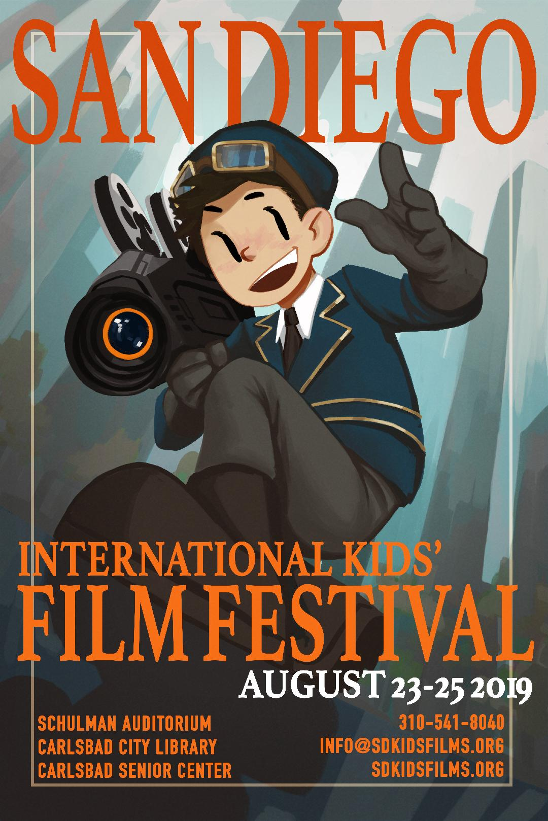 2019 San Diego International Kids Film Festival poster