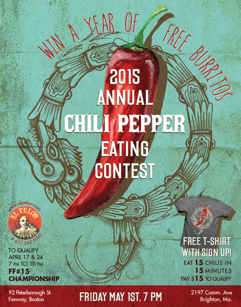 2015 Chilie Eating Contest