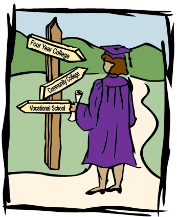 Graduate at crossroads