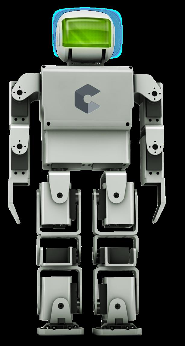 le robot humanoïde imprimé en 3D