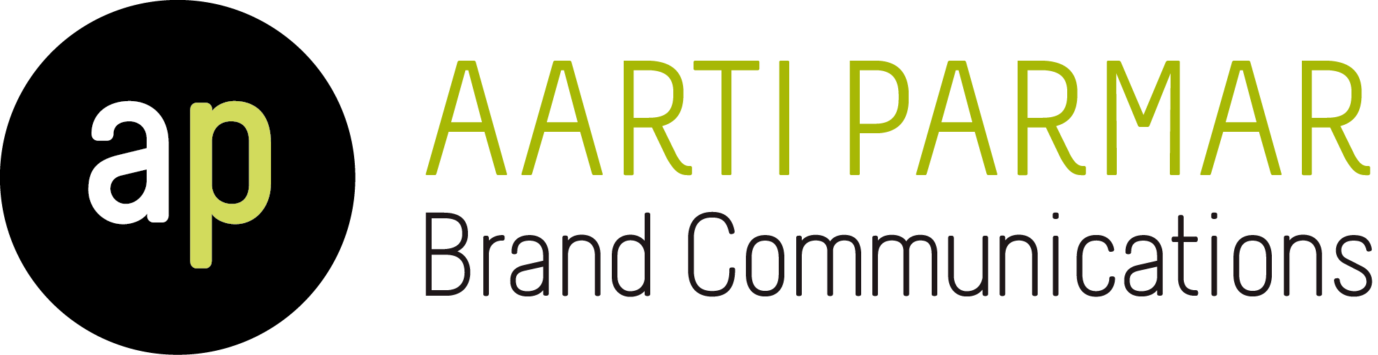 Aarti Palmer AP Brand Communications, graphic design Logo