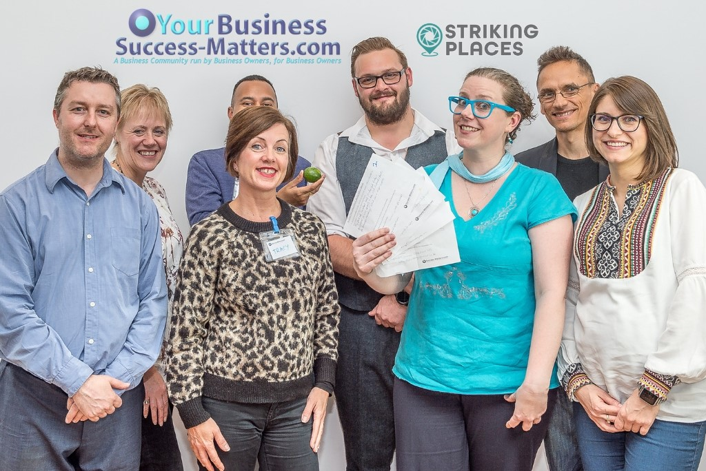 Competition winners of Business Success Matters event for Business Owners
