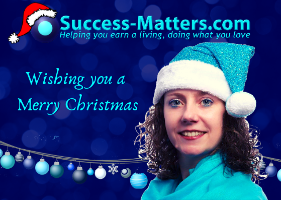 Christmas Card Claire Boyles Success matters