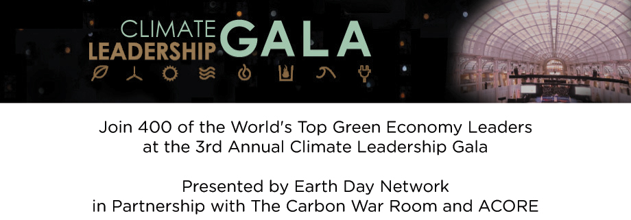 Climate Leadership Gala