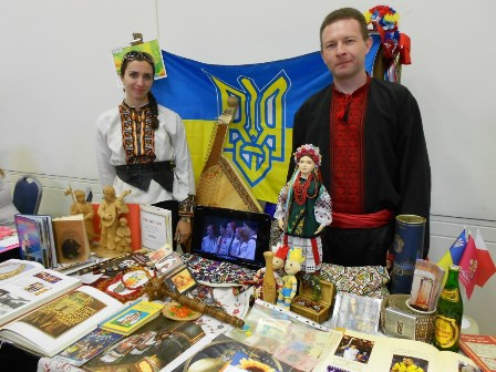 Ukraine Booth at G-Fest 2012