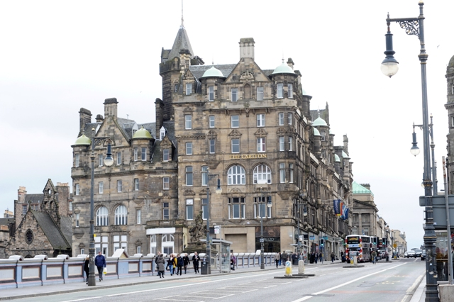 Hilton Hotel North Bridge Edinburgh