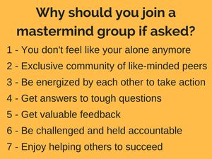 Reasons why should you join an entrepreneurial mastermind group