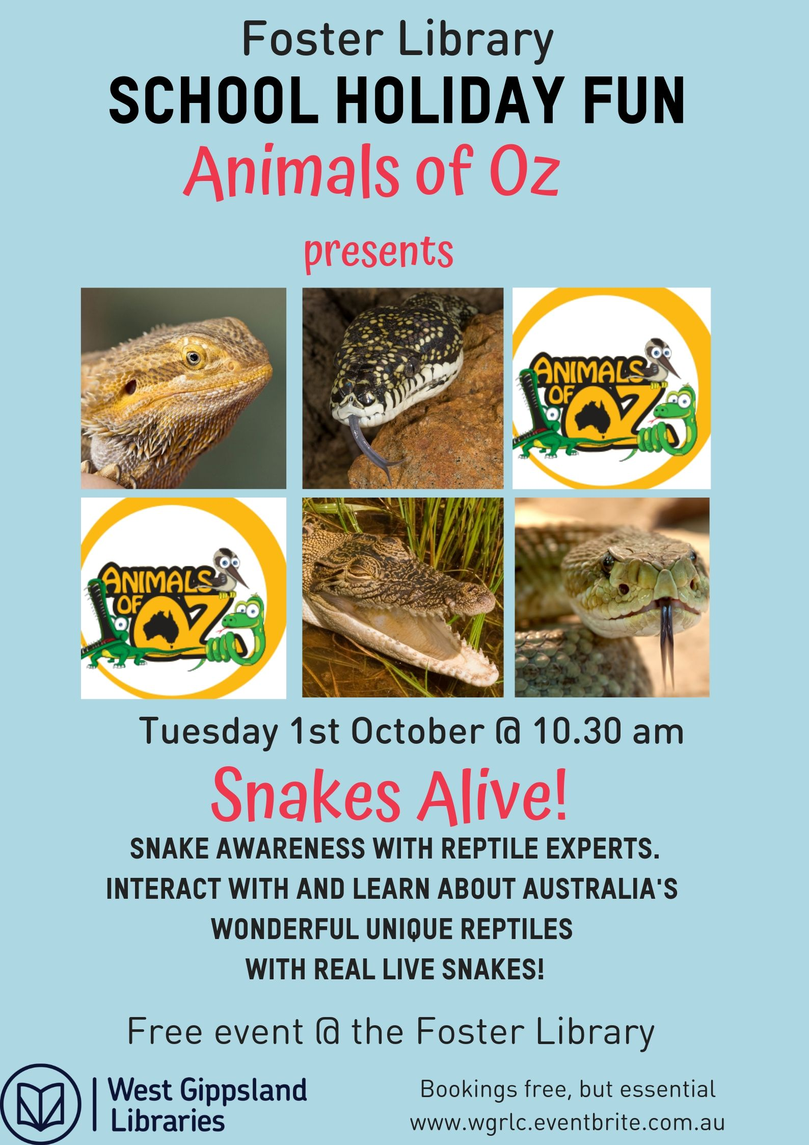 Animals of Oz Foster event