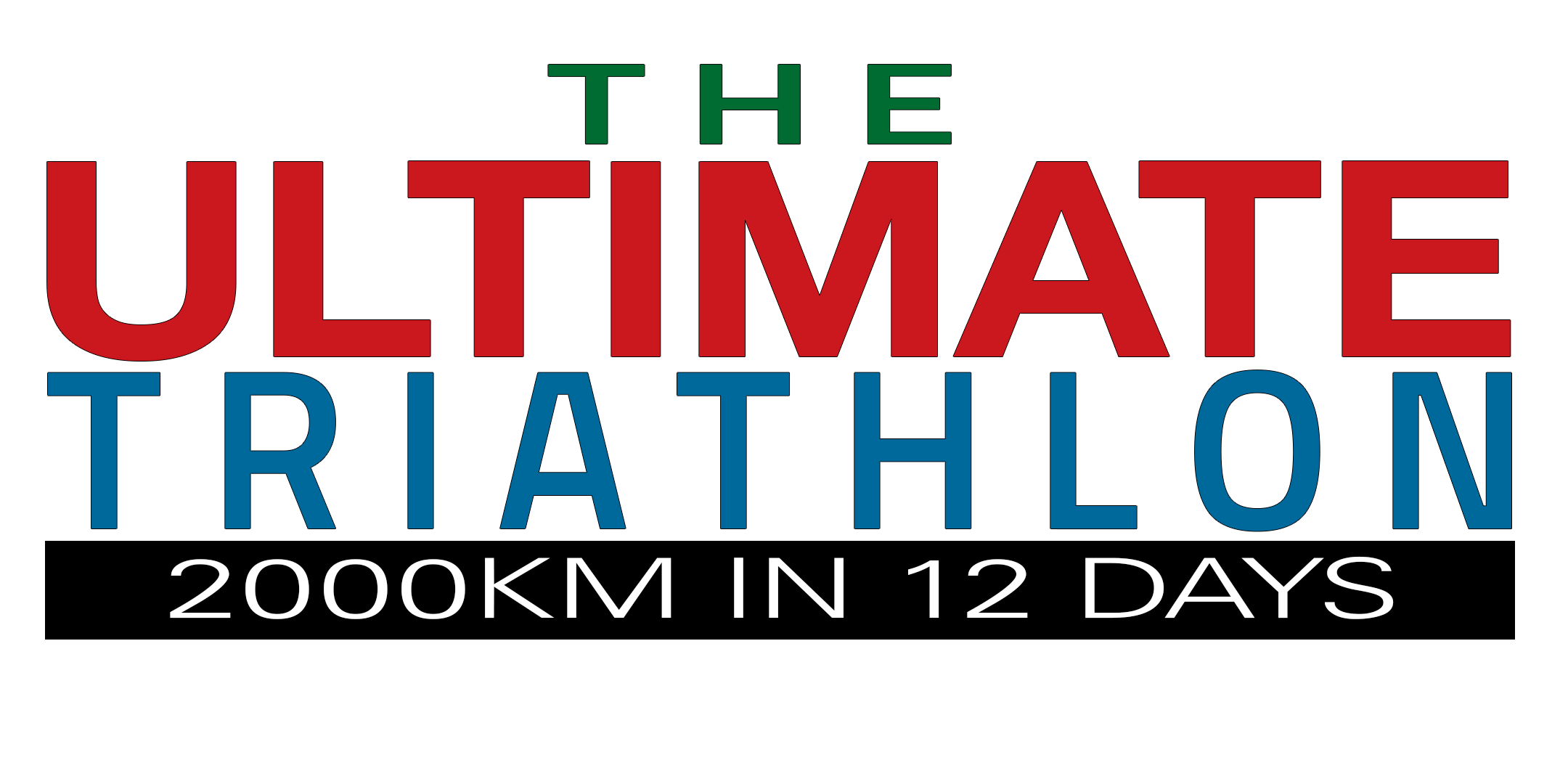 The Ultimate Triathlon - 2000kms in 12 days