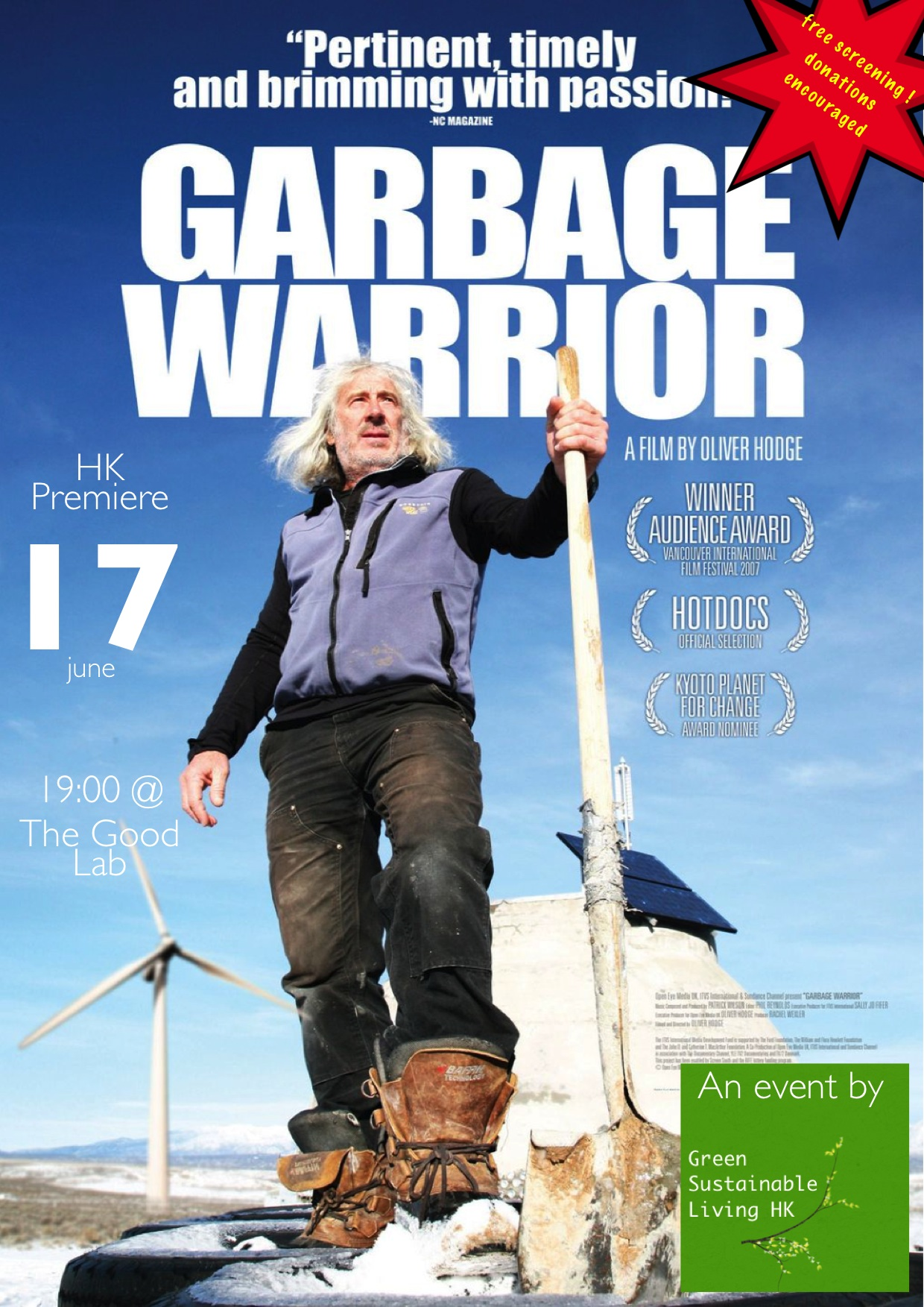 Garbage warrior film poster