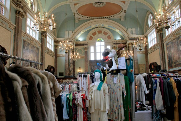 Frock Me vintage fashion show at Chelsea Old Town Hall