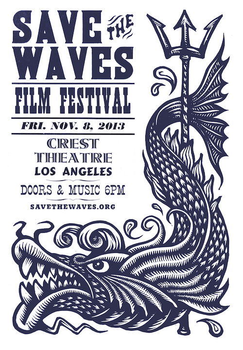 Save The Waves Film Festival poster