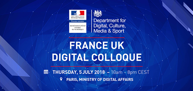France UK Digital Colloque 2018