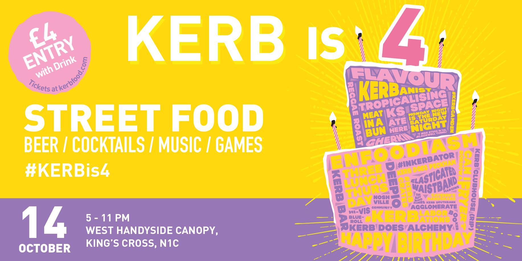KERB turns 4!