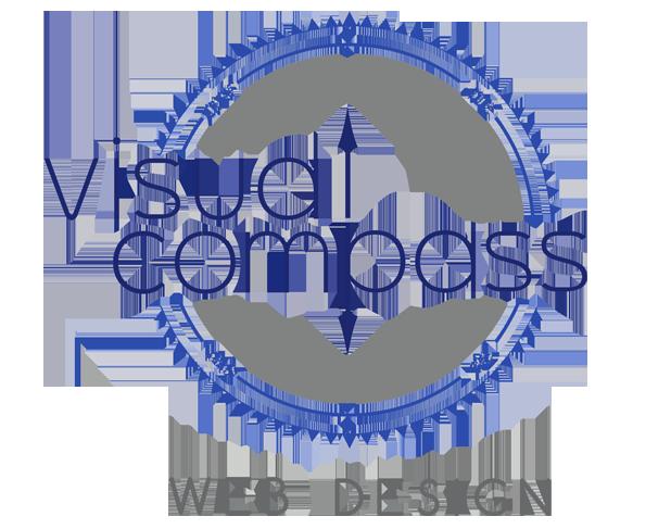 Visual Compass Web Design Logo