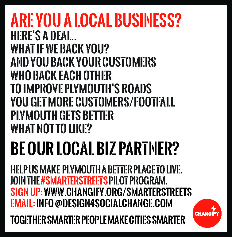 Local business signup to SmarterStreets