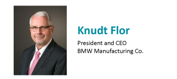 Knudt Flor, BMW
