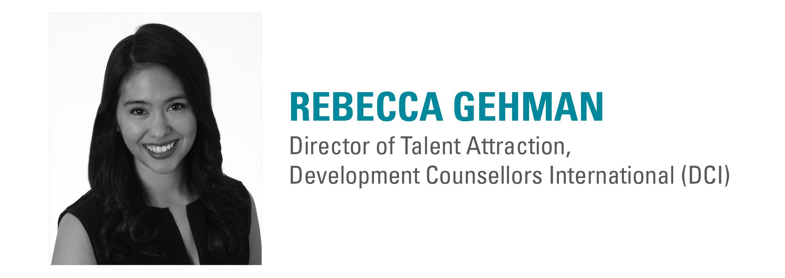 Rebecca Gehman DCI