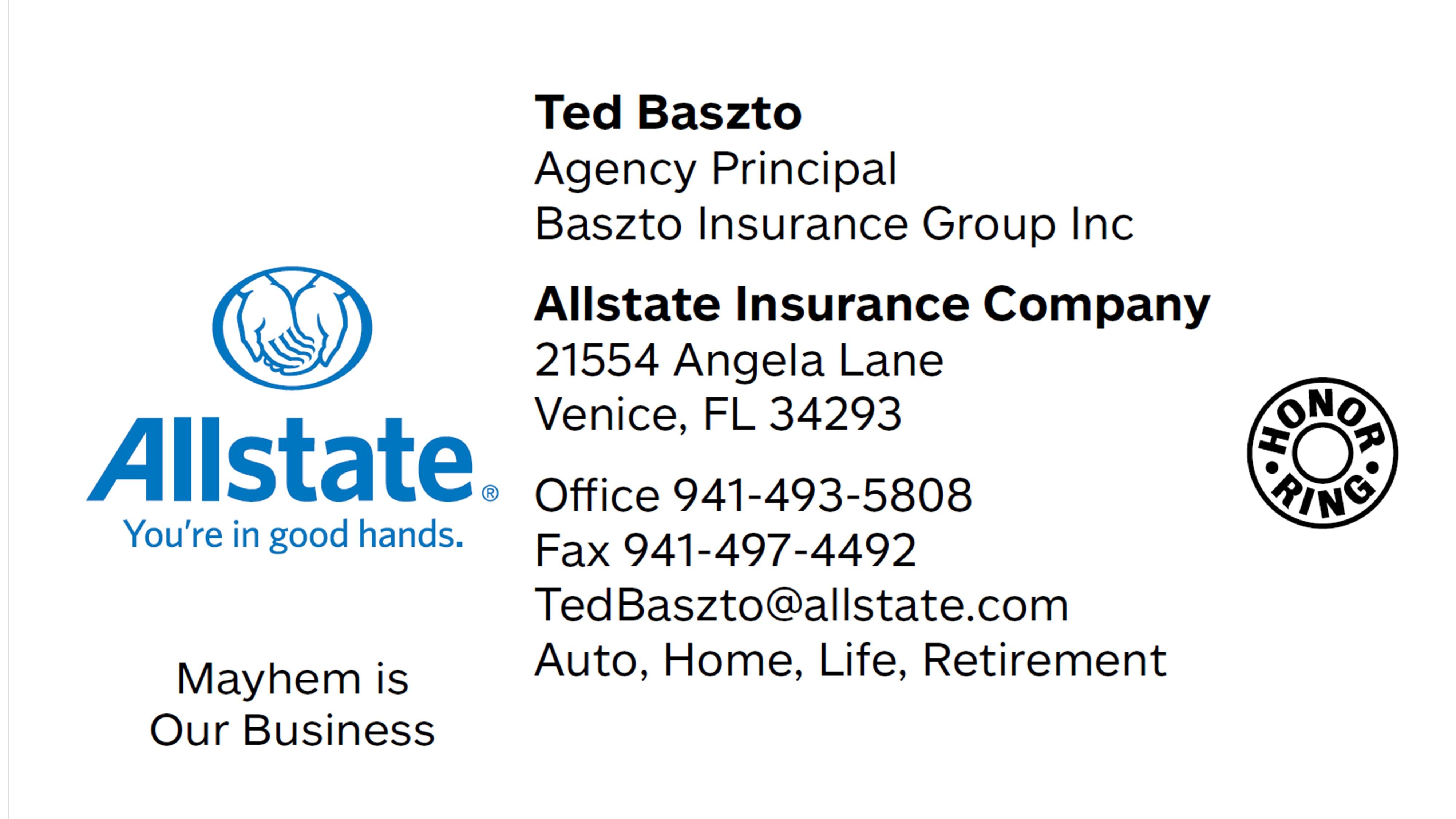 Ted Baszto Allstate