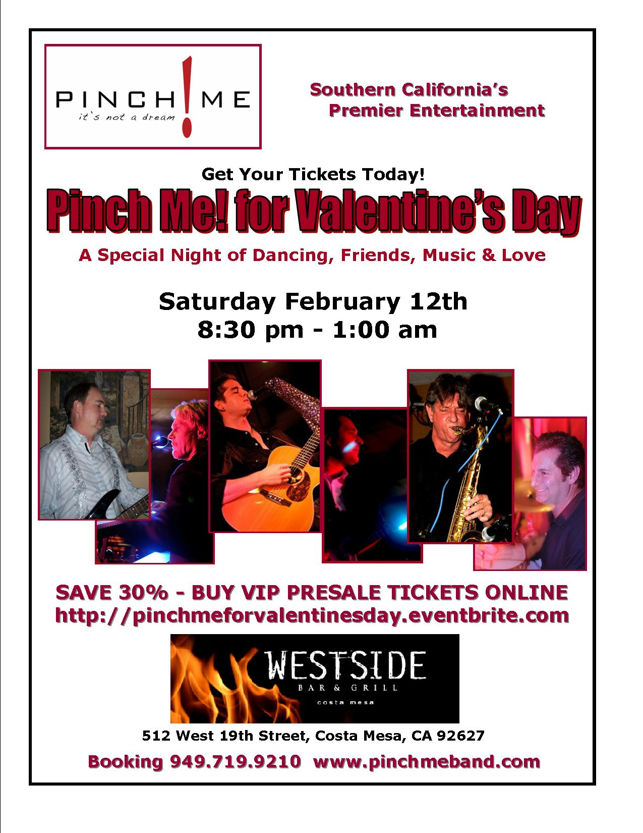 Pinch Me! for Valentine's Day Poster