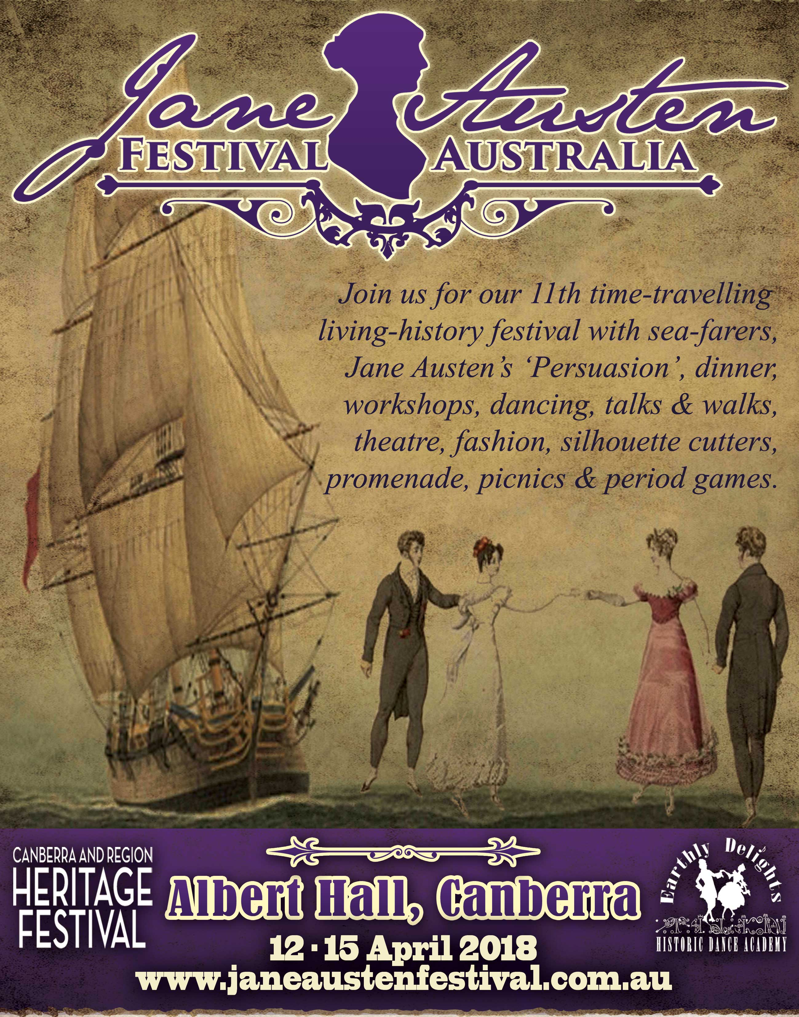 Jane Austen Festival Australia 2018