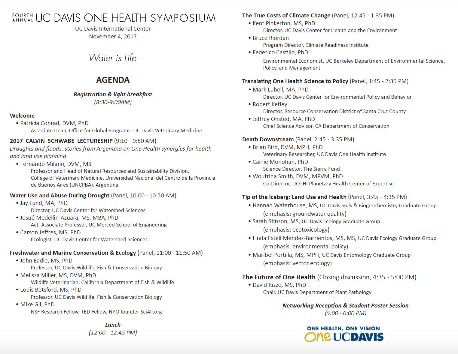 Symposium 2017 program