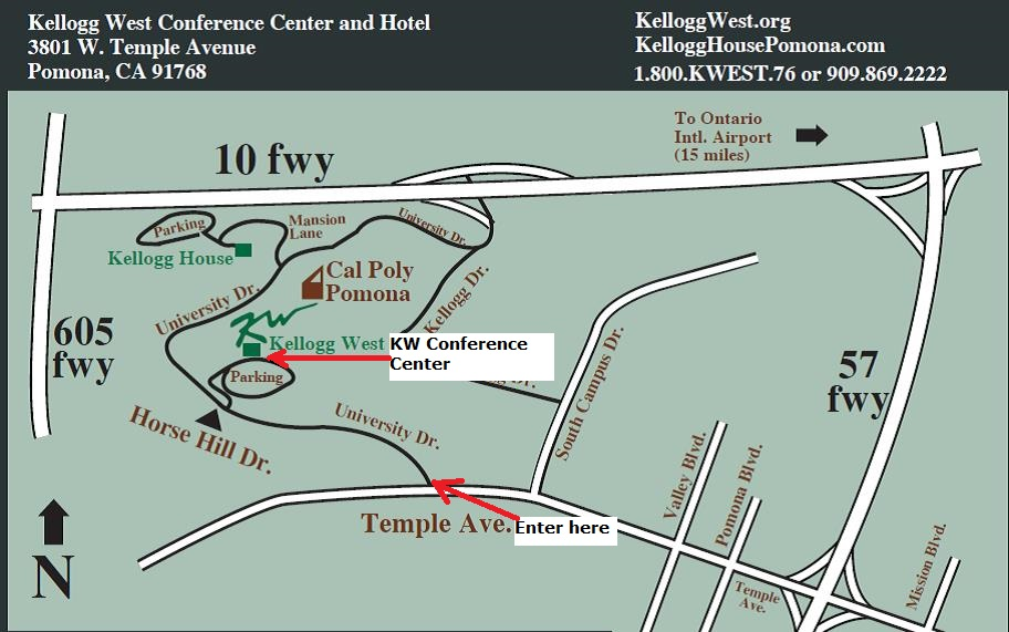 Kelllogg West Conference Center Map