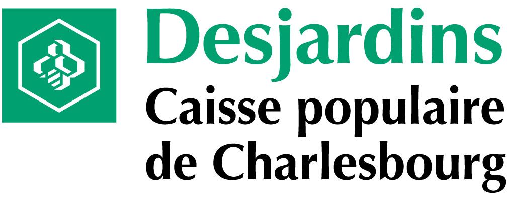 Logo Desjardins Caisse de Charlesbourg