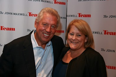 Deborah with John Maxwell