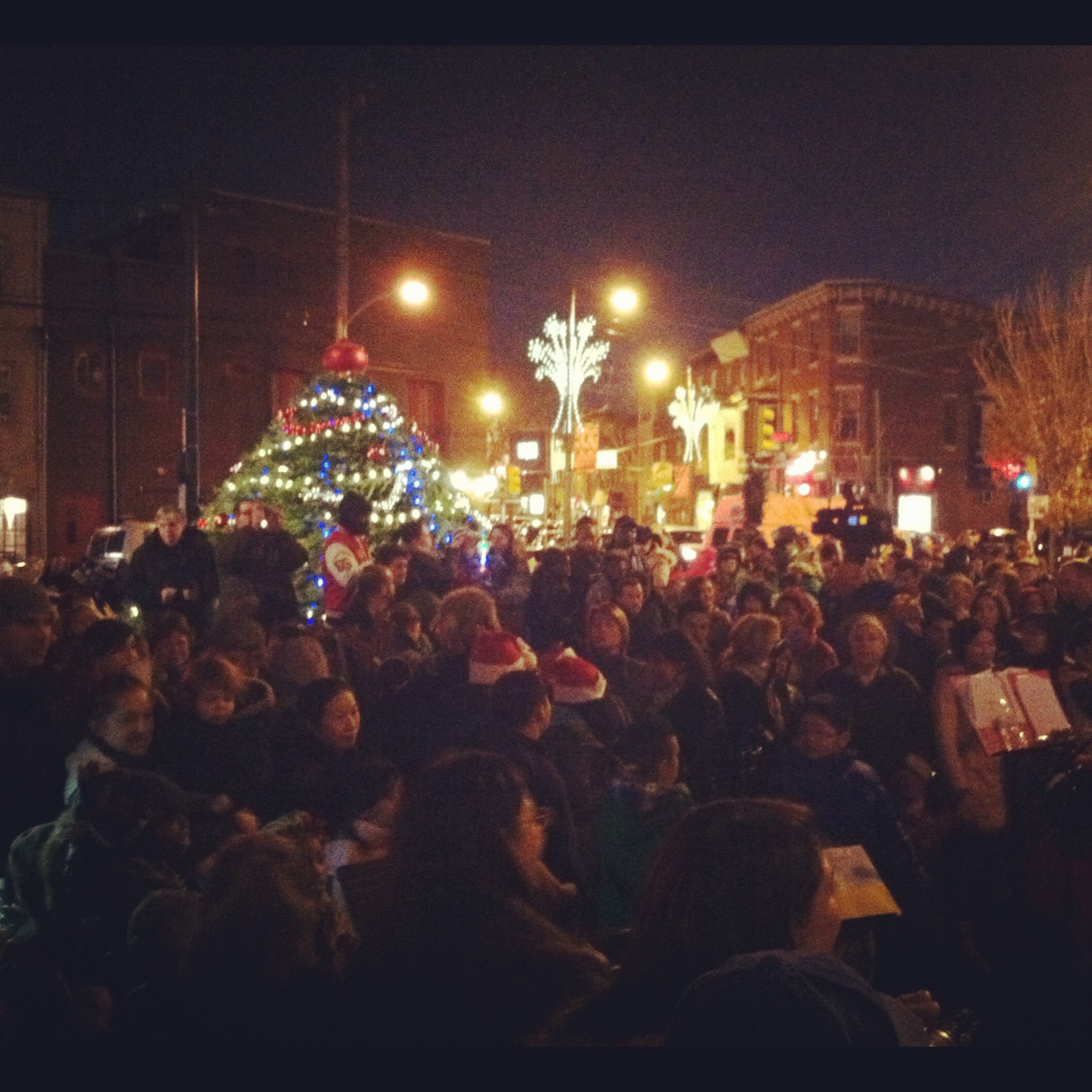 East Passyunk Tree Lighting