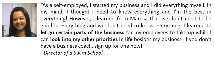 Great Business Great Life Director Swim School