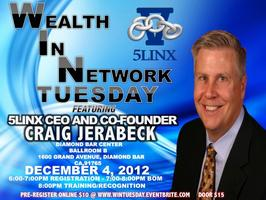 WEALTH IN NETWORK TUESDAY WITH CEO CRAIG JERABECK