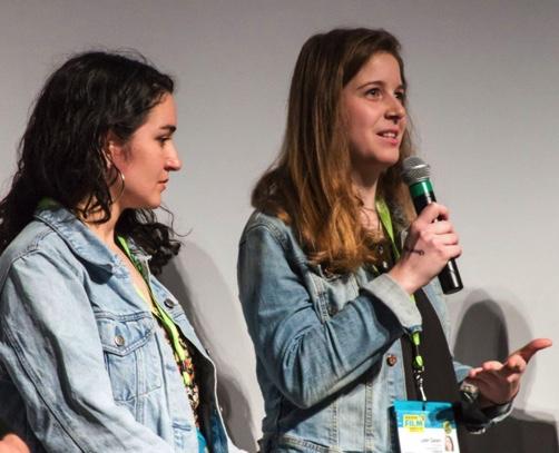 Filmmakers Leah Galant & Maya Cueva