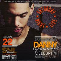 ★SATURDAY JUNE 21st @ The VENUE: Spurs Super Star DANNY GREEN...