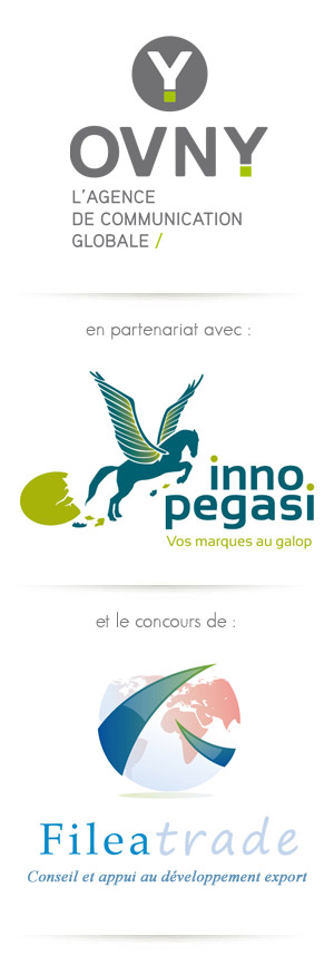 Logos organisateurs Ovny Inno Pegasi Fileatrade