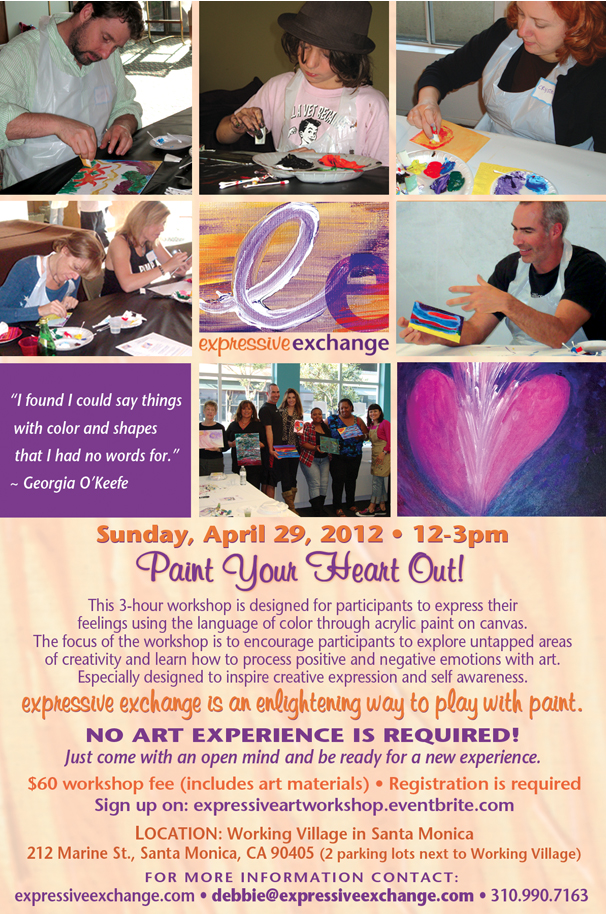 expressive art workshop