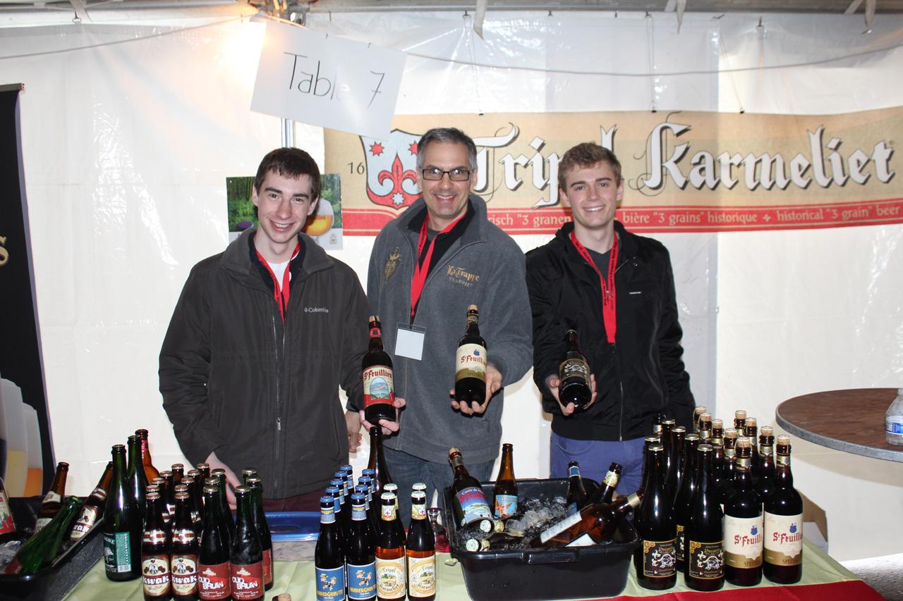 NABBF 2015 sample beer selection