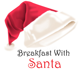 Invitation to have breakfast with Santa