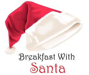 Invitation to have breakfast with Santa