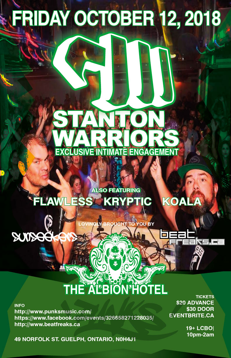 Beatfreaks Stanton Warriors