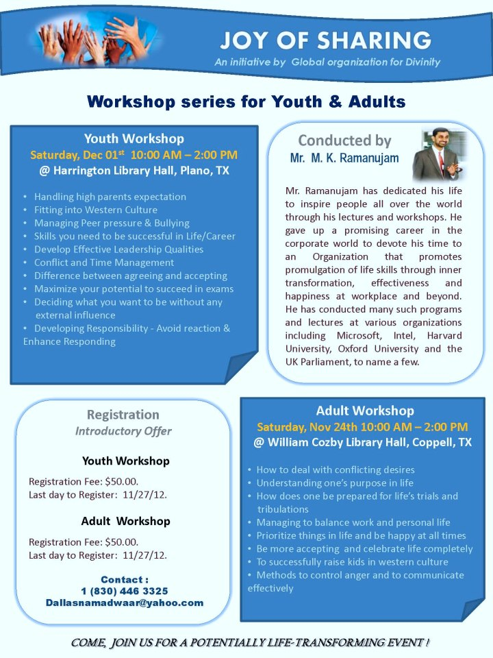 Youth Workshop
