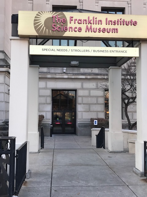Franklin Institute Entrance