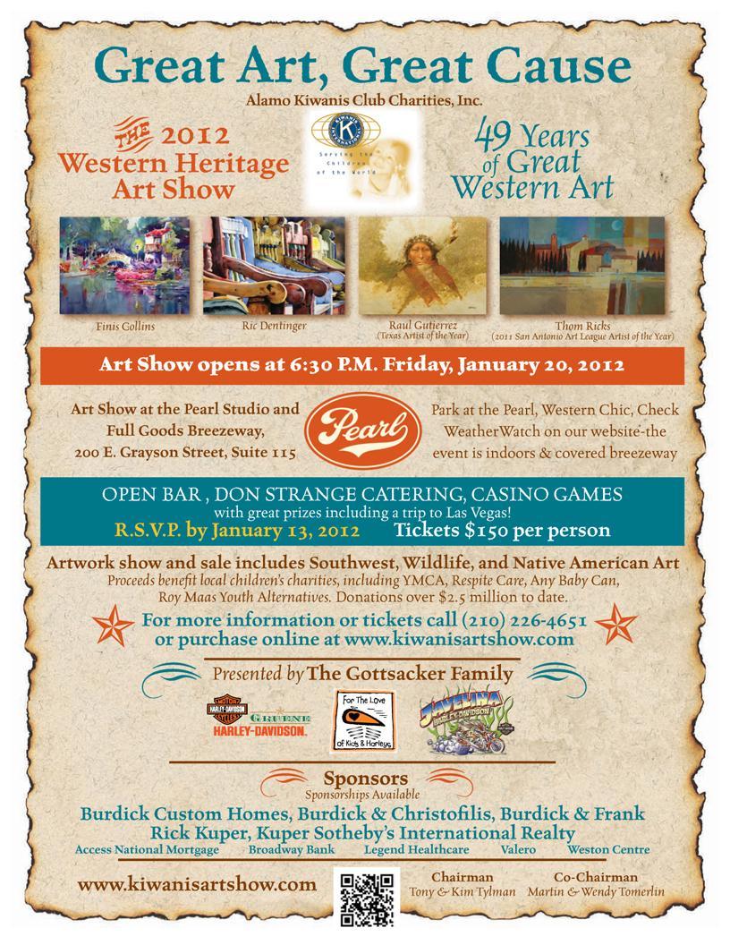 Western Heritage Art Show Jan 20 2012