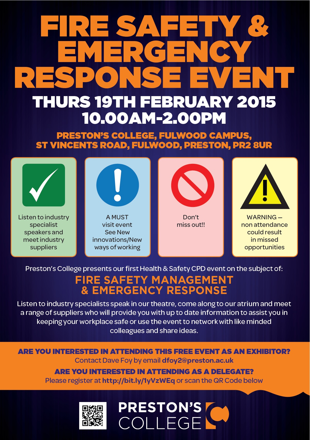 Fire Safety Management Amp Emergency Response Cpd Event