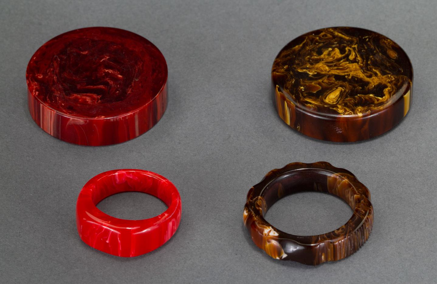 Bakelite Rings